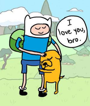 Finn and Jake by mxbear
