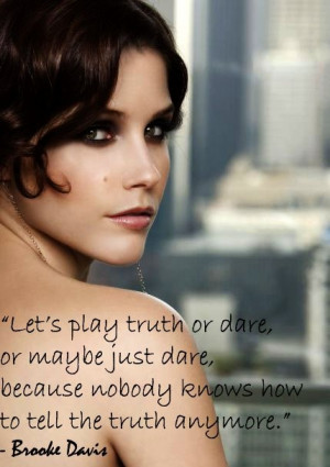 Brooke Davis One Tree Hill Quotes