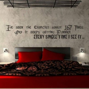 beetlejuice movie quote vinyl wall decal