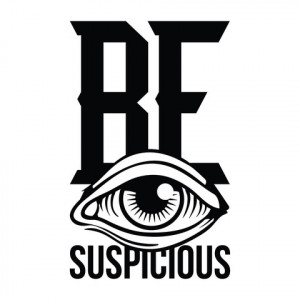 Home › Be Suspicious - Office Quote Wall Decals