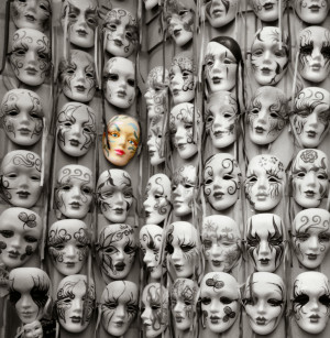 On wearing masks