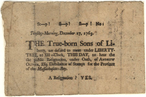 Voices of the Revolution: Sons of Liberty