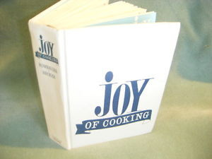 THE JOY OF COOKING by MARION IRMA S ROMBAUER HC 1972 VINTAGE BLUE JOY