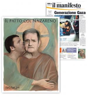 """Patto del Nazareno, Romano Prodi: """" Berlusconi e Renzi contro di me ..."""