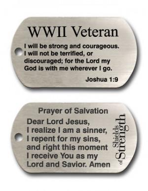 world war ii veteran dog tag chain necklace