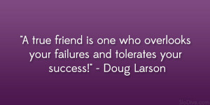 Doug Larson Quote