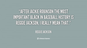 After Jackie Robinson the most important black in baseball history is ...