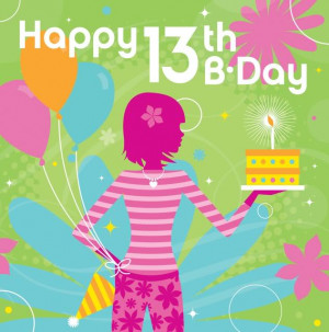 Happy 13th Birthday To Me Quotes Re: happy 13th birthday