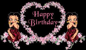 Betty Boop Birthday Cards