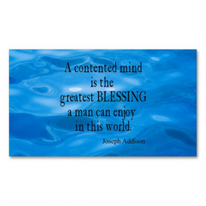 Vintage Blue Water Marine Sea Addison Mind Quote Double-Sided Standard ...