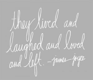 james joyce love quotes