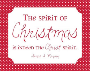 Religious Christmas Quotes And Sayings Spirit of christmas