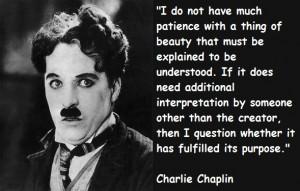 ... Charlie Chaplin