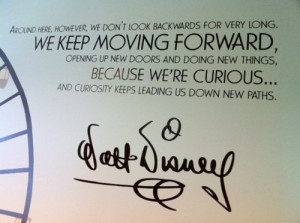 Keep Moving Forward Quote Disney
