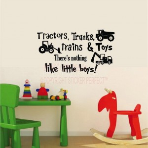 ... little boys. cute humor inspirational nursery vinyl wall decals quotes