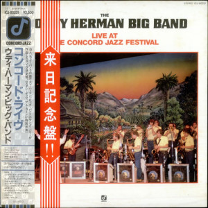 Woody Herman Live At The Concord Jazz Festival JAP LP RECORD ICJ80221