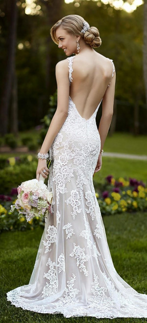Stella York Spring 2015 Bridal Collection - Belle the Magazine . The ...