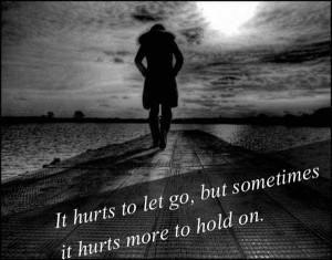 Love Hurts Sad Love Quote
