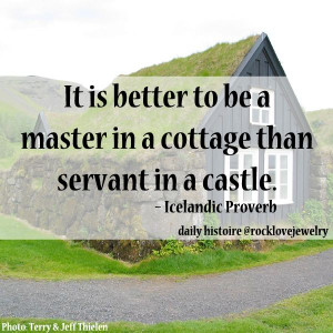 ... feeling a bit under the weather... reflect upon this Viking Wisdom