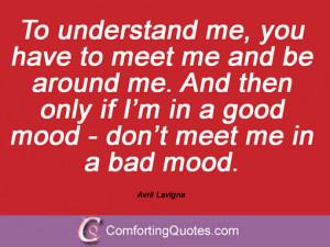 Avril Lavigne Sayings
