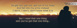 Get Out of My Head Quotes