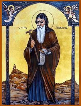 Anthony of Egypt ( 251-356 )