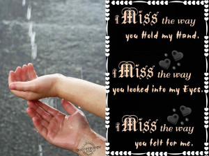 Miss My Brother Quotes I miss the way you hold my