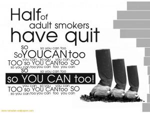 Download Ramadan Wallpapers wallpaper, 'Quit Smoking'.