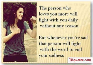 Best love quotes after a fight