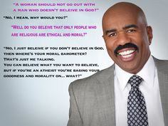 Steve Harvey: He's anti-gay, anti-Atheist, hilarious, knowledgeable ...