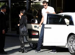 Kris drives Rolls Royce