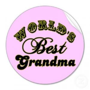 Best Grandma Quotes World's best grandma quotes