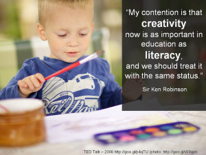Ken Robinson TED Talk: I felt that his speech was just incredibly ...
