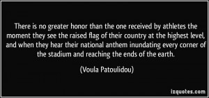 Military Quotes About Honor There is no greater honor than