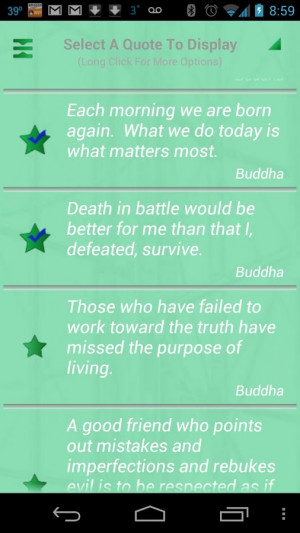 Buddha Quotes Pro - screenshot