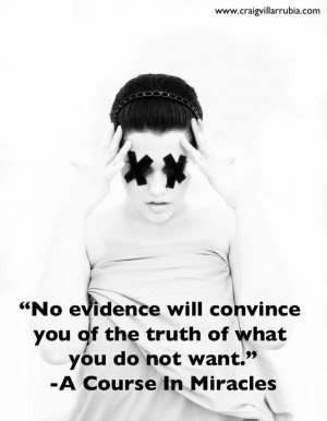 Staying blind to truth is a choice.