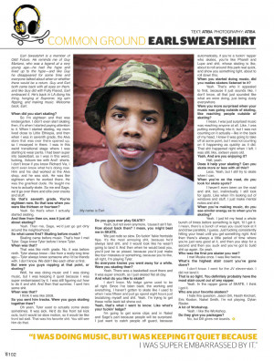 Earl Sweatshirt Quotes Tumblr Picture