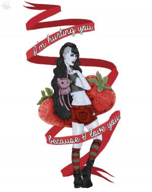 Отличный арт - AT quotes - Marceline