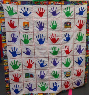 Quilting Class Ideas : Handprint Quotes For Teacher Appreciation Gifts. QuotesGram
