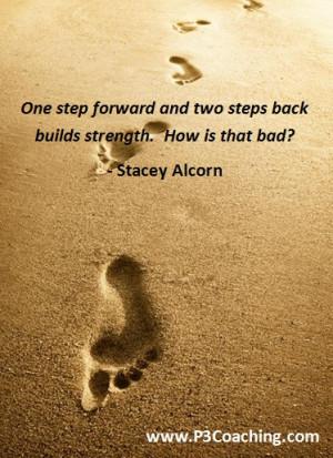 One step forward, two steps back....