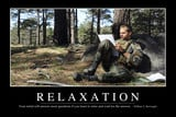 Relaxation: Inspirational Quote and Motivational Poster Photographic ...