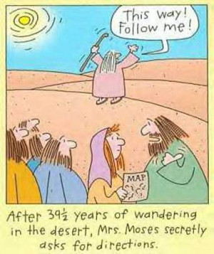 Biblical Farside Cartoons