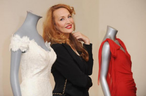 Jerry Hall photocall for homeless organization