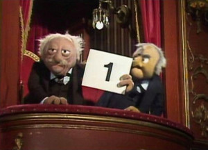 ... Statler and Waldorf puppets were made out of latex foam. Waldorf's
