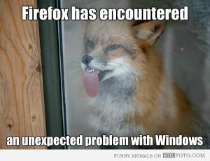 Funny Fox: Firefox Has an Unexpected Problem with Windows