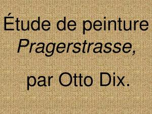 Rue De Prague Par Otto Dix