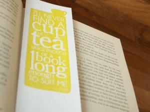 Bookmarks Typographic Quotes Reading Authors by SamOsborneStore