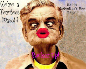 Funny Valentines day picture for him