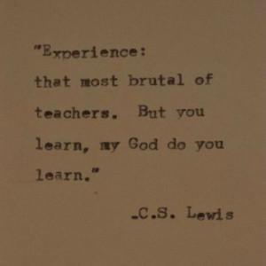10 Inspiring C S Lewis Quotes