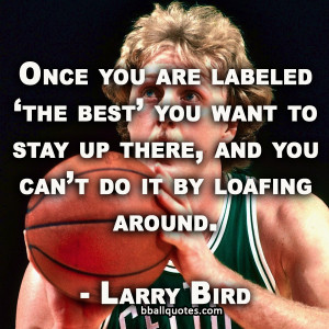 Larry Bird Quotes   Best Basketball Quotes